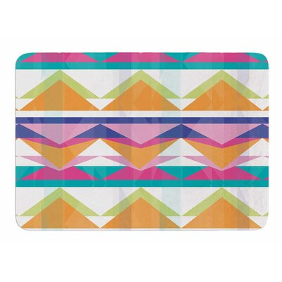 Triangle Waves by Miranda Mol Bath Mat