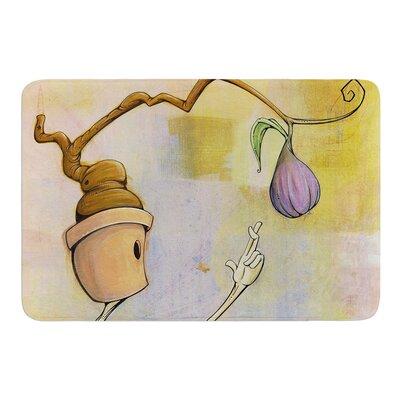 Purple Fruit by Matthew Reid Bath Mat