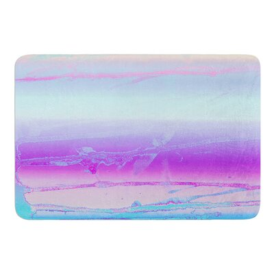 Drip Dye Cool by Nina May Bath Mat