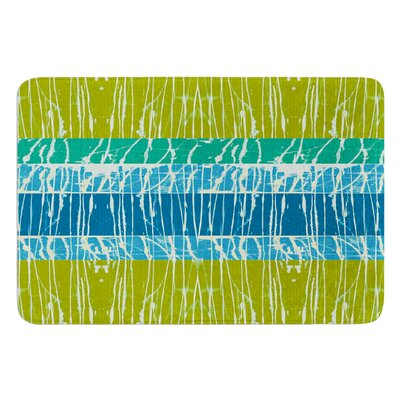 Ocean Splatter by Nina May Bath Mat