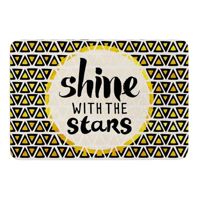 Shine with the Stars by Pom Graphic Design Bath Mat