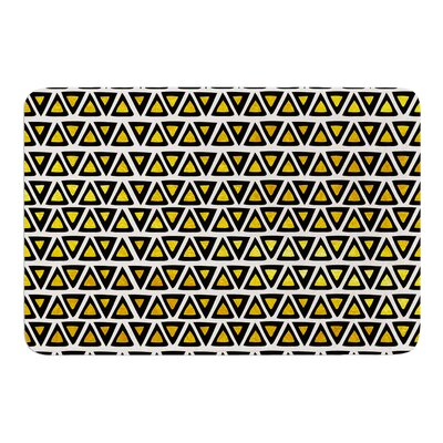 Aztec Triangles by Pom Graphic Design Bath Mat