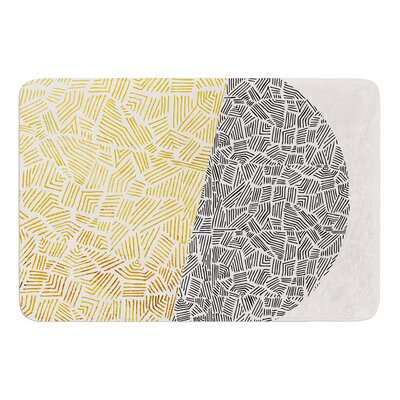 Inca Day and Night by Pom Graphic Design Bath Mat