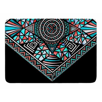 Peacock Feathers by Pom Graphic Design Bath Mat