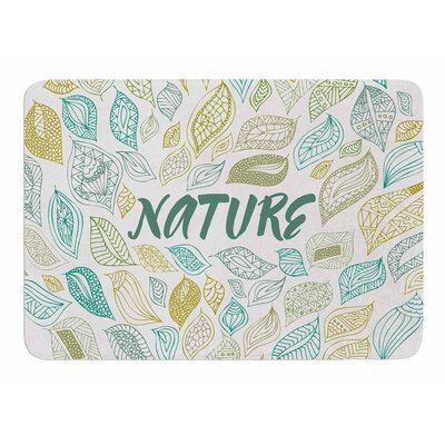Nature Earth by Pom Graphic Design Bath Mat