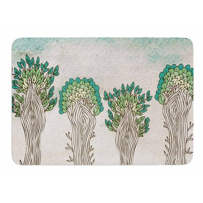 Amazon Trees by Pom Graphic Design Bath Mat