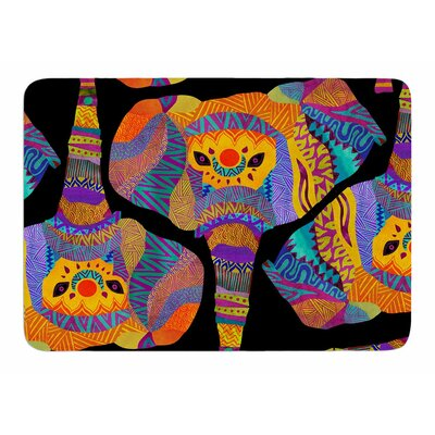 The Elephant In The Room by Pom Graphic Design Bath Mat