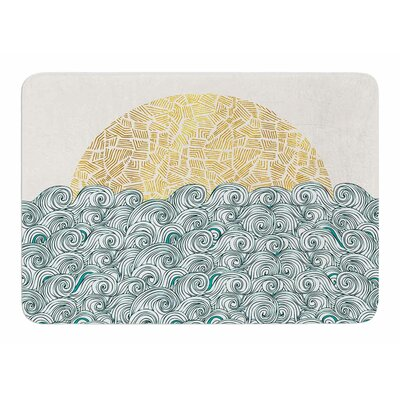 Sunny Tribal Seas II by Pom Graphic Design Bath Mat