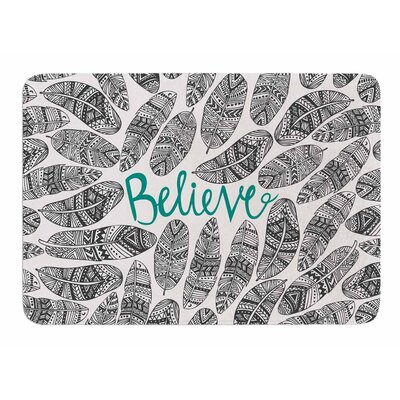 Believe by Pom Graphic Design Bath Mat