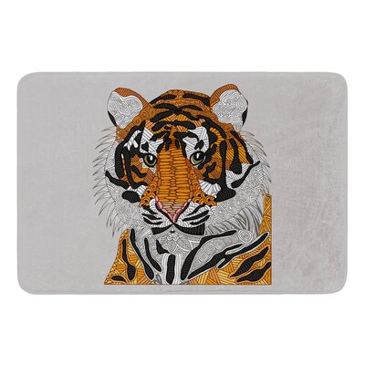 Tiger by Art Love Passion Bath Mat Size: 17W x 24L