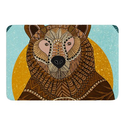 Bear in Grass by Art Love Passion Bath Mat Size: 24 W x 36 L