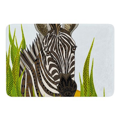 Zebra by Art Love Passion Bath Mat Size: 24 W x 36 L