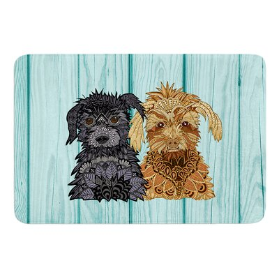 Daisy and Gatsby by Art Love Passion Bath Mat Size: 24 W x 36 L