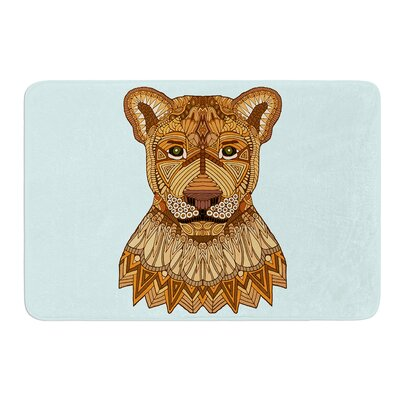 Lioness by Art Love Passion Bath Mat Size: 17W x 24L