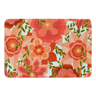 Flower Power by Art Love Passion Bath Mat Size: 24 W x 36 L