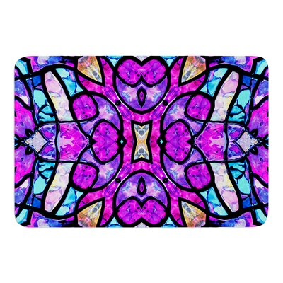Kaleidoscope Dream by Art Love Passion Bath Mat Size: 17W x 24L