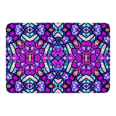 Kaleidoscope Dream Continued by Art Love Passion Bath Mat Size: 17W x 24L