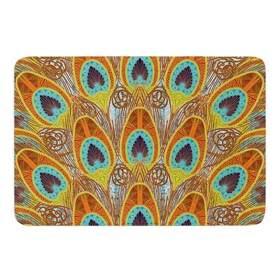 Peacock Pattern by Art Love Passion Bath Mat Size: 24 W x 36 L