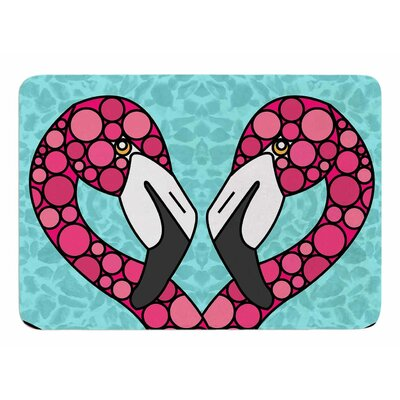 Flamingos by Art Love Passion Bath Mat