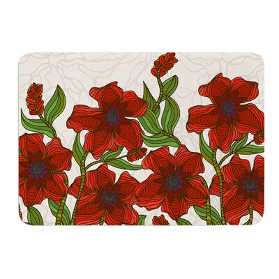 Poppy Field by Art Love Passion Bath Mat