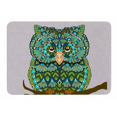 Great Owl by Art Love Passion Bath Mat