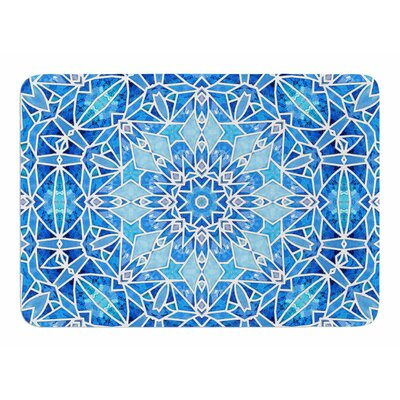 Star Snowflake by Art Love Passion Bath Mat