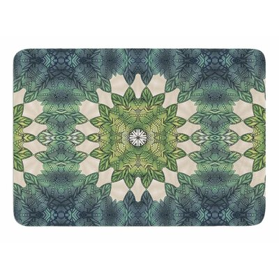 Forest Leaves Repeat by Art Love Passion Bath Mat