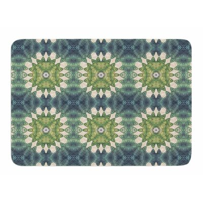 Forest Leaves Pattern by Art Love Passion Bath Mat