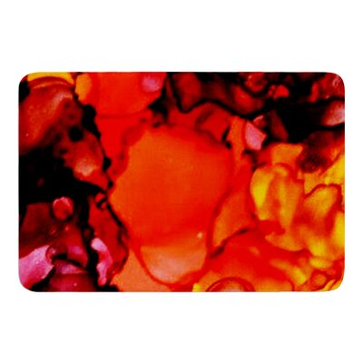 Mordor by Claire Day Bath Mat Size: 17W x 24L