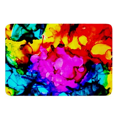 Sweet Sour by Claire Day Bath Mat Size: 17W x 24L