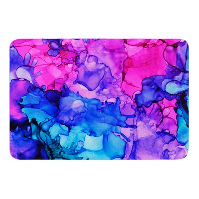 Audrey by Claire Day Bath Mat Size: 17W x 24L