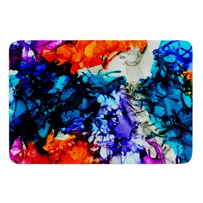 Evanescence by Claire Day Bath Mat Size: 17