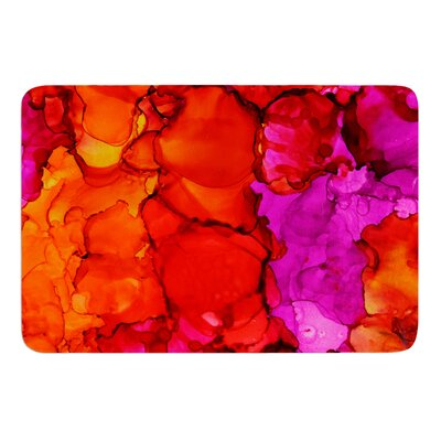 Fierce by Claire Day Bath Mat Size: 17W x 24L