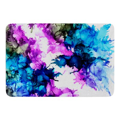 Utopia by Claire Day Bath Mat Size: 24 W x 36 L