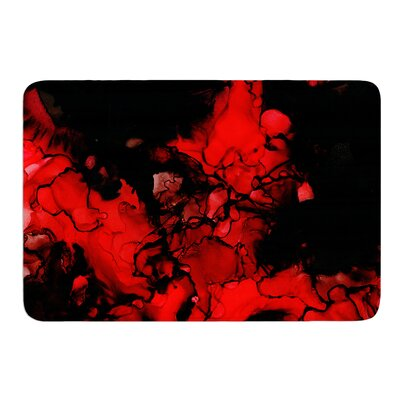 Vesuvius by Claire Day Bath Mat Size: 17
