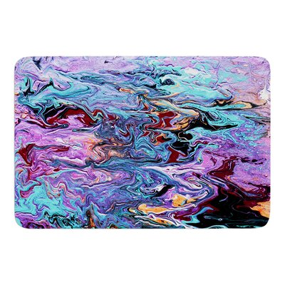 Lola by Claire Day Bath Mat Size: 17W x 24L