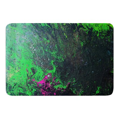 Acid Rain by Claire Day Bath Mat Size: 17W x 24L