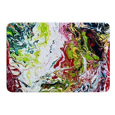 Chaos by Claire Day Bath Mat Size: 17W x 24L