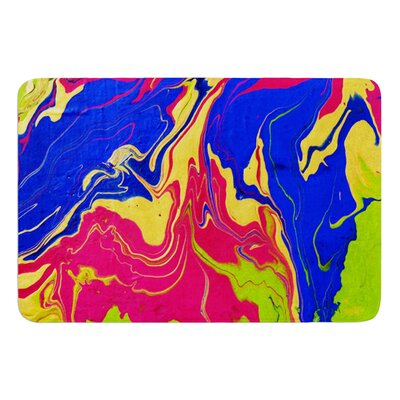 Escaping Reality by Claire Day Bath Mat Size: 17W x 24L