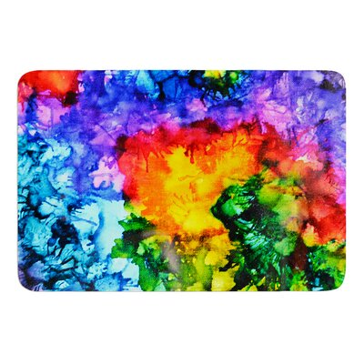Karma by Claire Day Bath Mat Size: 17W x 24L