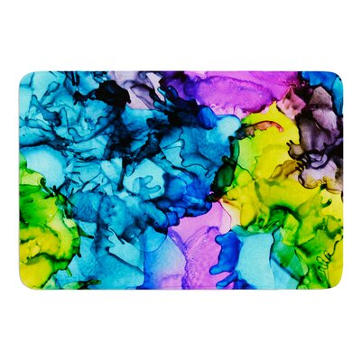 Mermaids by Claire Day Bath Mat Size: 17W x 24L