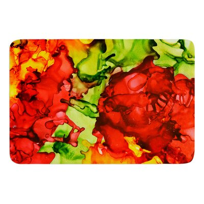 One Love by Claire Day Bath Mat Size: 24 W x 36 L