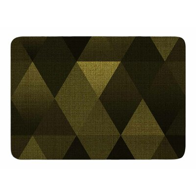 Golden Triangles by Cvetelina Todorova Bath Mat