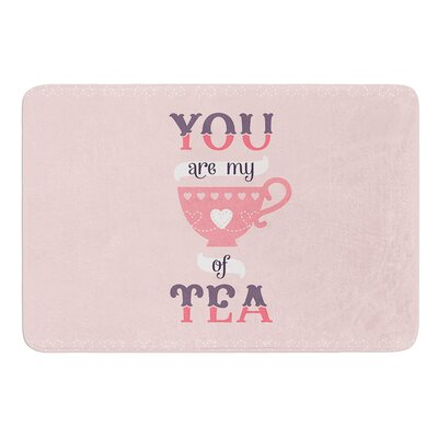 My Cup of Tea by Daisy Beatrice Bath Mat Size: 17W x 24L