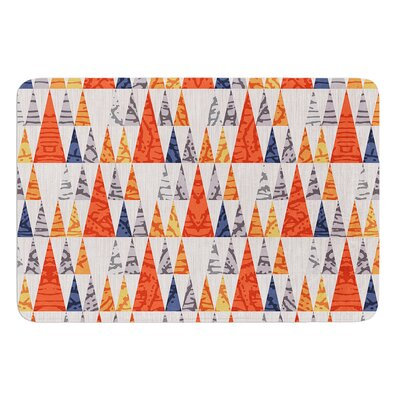 Tepee Town by Daisy Beatrice Bath Mat Size: 17W x 24L
