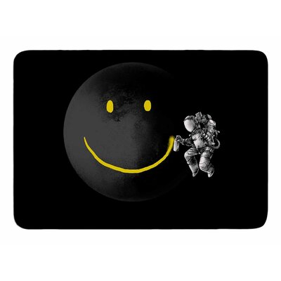 Make A Smile by Digital Carbine Bath Mat