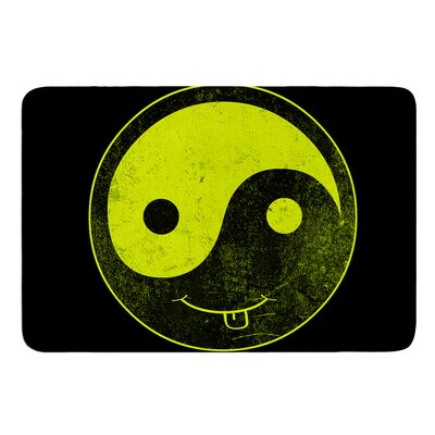 Ying Yang by Frederic Levy-Hadida Bath Mat Size: 17W x 24L