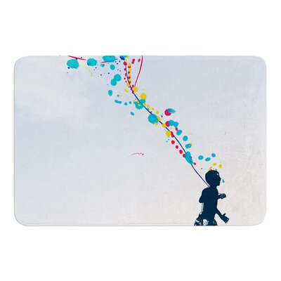 Child Creation Chronicle by Frederic Levy-Hadida Bath Mat Size: 17W x 24L