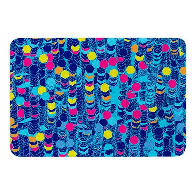 Color Hiving by Frederic Levy-Hadida Bath Mat Size: 24 W x 36 L
