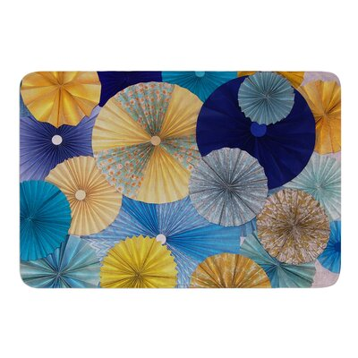 Suspension by Heidi Jennings Bath Mat Size: 17W x 24L